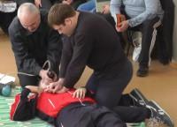 Занятия по оказанию первой помощи пострадавшему